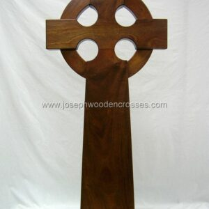 4 Foot Mahogany Celtic Cross