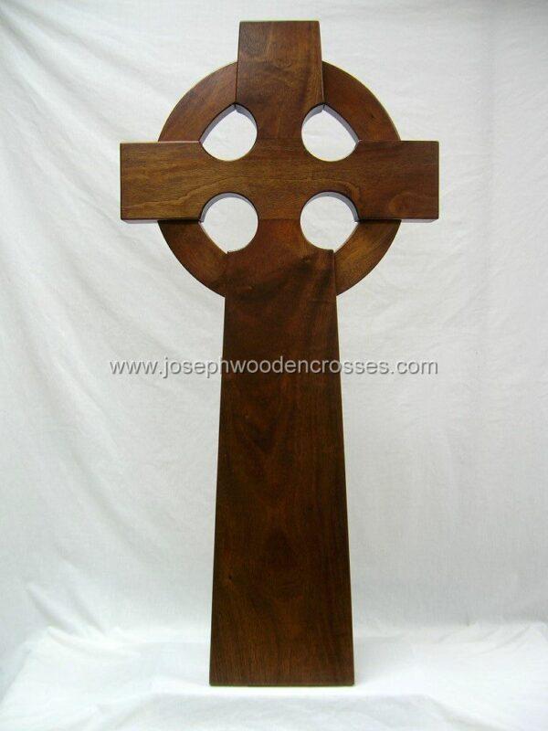 4 Foot Mahogany Celtic Cross