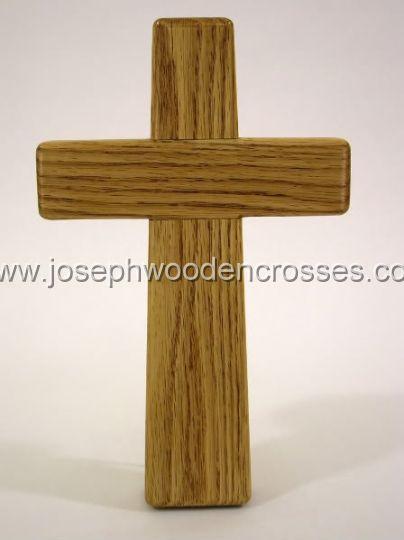 975inch Oak Wall Cross back