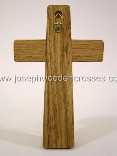 975inch Oak Wall Cross hanger