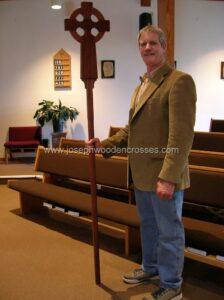 Home Page Irish Celtic Processional Cross